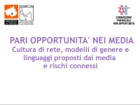 Pari opportunità nei media