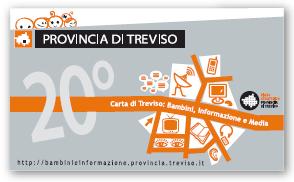 Penna usb 20° Carta di Treviso: Bambini, Informazione e Media