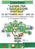 "Convegno ""Azioni per l'educazione digitale"""