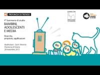 """8° seminario di studio """"Bambini, Adolescenti e Media – Ricerche, proposte, applicazioni"""""""